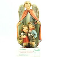 "Vintage Goebel Hummel Heavenly Protection 88/II TMK-6 9"" Tall angel + sales tag"
