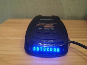 Beltronics RX968S radar detector Russian version Used