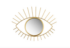 Gold Tribal Eye See You Decorative Mirror Sass & Belle Round Hanging Wall