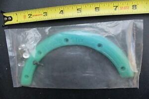 Schmitt Stix Grip Stix Teal Green Rubber Vintage Skateboarding Nose Guard Grab