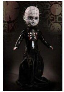 HellRaiser UT-94650 Living Dead Dolls Presents III Pinhead Figure, New in Box, N