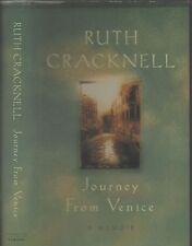 RUTH CRACKNELL - JOURNEY FROM VENICE: A MEMOIR (HCDJ; 1st Ed; 2000)