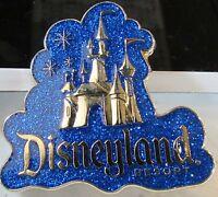 Disney DLR Castle Glitter Cloud Logo Artist Proof AP Pin