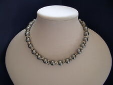 New Stunning Faux Pearl Necklace in Silver
