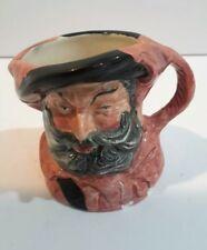 Royal Doulton Falstaff Character Miniature Jug Mug D6519 2.5 Inch 1949