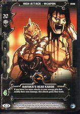 Epic Battles TCG Mortal Kombat - Baraka's Head Kabob R90 Rare