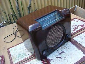 Vintage Valve /  DAC90  Tube BUSH Radio Untested For Restoration Spare or Repair