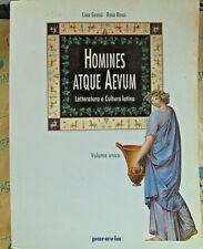 HOMINES ATQUE AEVUM VOLUME UNICO - L.GROSSI e R.ROSSI - PARAVIA