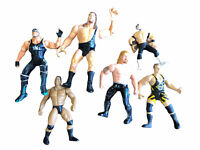 WWE WCW Wrestling Figures Lot Of 6 Hulk The Rock Big Show DDP Owen Hart