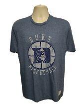Duke University Basketball Adult Large Blue TShirt