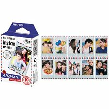 1 pack Fujifilm Instax Mini Film Airmail for Fuji Mini 90 8 25 7S 50s 55i SP-1