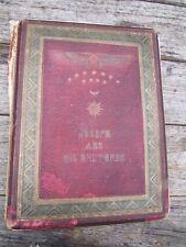 RARE HISTORIC ANTIQUE 1865 JOSEPH AND HIS BRETHREN BOOK BY DAY & SON