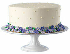 NEW WILTON CERAMIC PEDESTAL CAKE STAND 307-873, DISCONTINUED ITEM FROM WILTONS