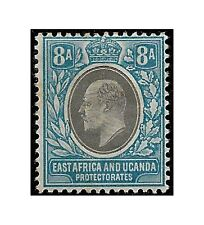 East Africa Uganda Protect. stamp 1903, 8 annas grey/pale blue SG.8 MH -F470