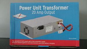 BCA CARAVAN MOTORHOME 240V-12V 20A POWER UNIT TRANSFORMER BATTERY CHARGER PO120