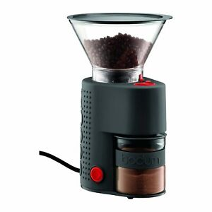 New Bodum Electric Burr Coffee Grinder Machine Bistro Breville Espresso
