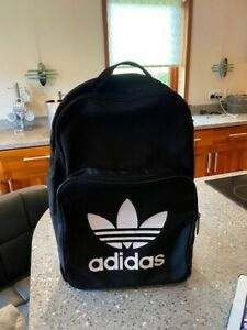 Adidas Classic Backpack School Bag Sports Gym College Black Rucksack Unisex