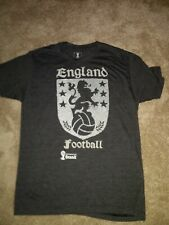 England football tshirt Fifa World Cup Brasil L Large grey