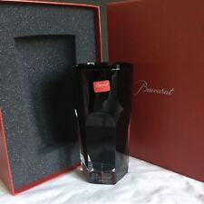 "Baccarat-DARKSIDE- ""Black Angel"" Tumbler. Mint in Box"