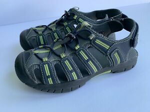 Khombu Dillon Boy Water Viking shoe Hiking  Sz 4 Gray Grey Green