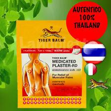 Tiger Balm Cerotti Calore sollievo dolori muscolari 7cm x 10 cm X 2 pezzi