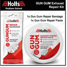 Holts Gun Gum Exhaust Muffler Silencer Repair Paste & Bandage DIY Kit Gungum