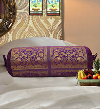 Traditional Bolster Pillowcase Pillow Elephant Bedding Cylinder Neck Bolster