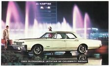 1965 Oldsmobile JETSTAR 88 CELEBRITY SEDAN Dealer Promo Postcard UNUSED VG+ ^