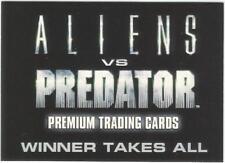 """2007 INKWORKS """"ALIEN vs PREDATOR"""" PROMO TRADING CARD [AP.SD2007] V/GOOD COND"""