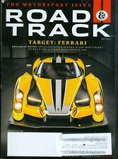 2015 Road & Track Magazine: Ferrari Glickenhaus SCG003/Nissan Race Car/Miata