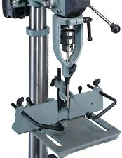 Drill Press Mortising Kit Square-Shouldered Mortises Jig Chisel Bits Auger Tool