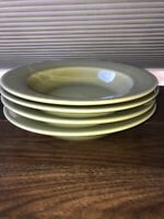 Retired HTF Williams Sonoma Portugal BELVEDERE Sage Green 4  Soup/Pasta Bowls