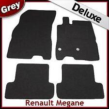 Renault Megane Mk3 Estate 2008-2016 Tailored LUX 1300g Carpet Floor Mats GREY