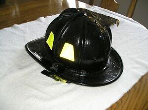 Cairns Model N6A1M Leather New Yorker Fire Helmet Sz M