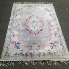 Rectangle Chinese 1940-1969 Antique Carpets & Rugs