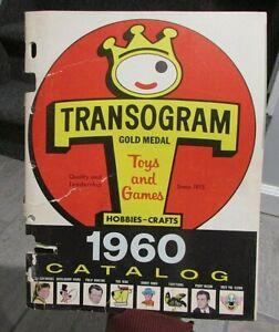 Original 1960 Transogram Toy Catalog Disney Yogi Bear Huckelberry Hound