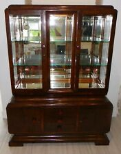 French Art Deco  Cabinet, Display Bar Cabinet c.1930
