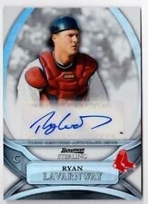 Ryan Lavarnway 2010 Bowman Sterling Rookie REFRACTOR  AUTOGRAPH RC #'d 128/199