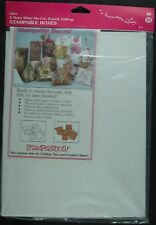 Stampendous Stampable Boxes, Pk of 8
