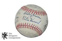 1973-74 New York Yankees Souvenir Team Baseball Munson Houk Elston et al MLB