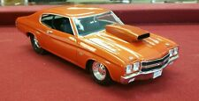 Welly 1970 Chevrolet Chevelle Pro Street SS 454 1:18 Diecast Car ORANGE