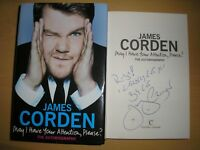 JAMES CORDEN - MAY I HAVE YOUR ATTENTION PLEASE 1/1  HB/DJ 2011 SIGNED, DOODLED