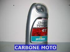 1 LITRO OLIO MOTOREX CROSS POWER 10W50 4T 100% SINTETICO CONSIGLIATO KTM