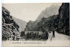 Calacuccia Corsica France Postcard CPA 1000