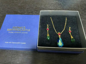 Howl's Moving Castle Swarovski Necklace & Earring Ghibli Museum Exclusive Japan
