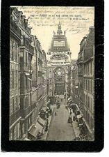 cpa PARIS 18e - La rue André Del Sarte (1906)
