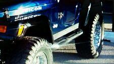 "Jeep TJ Wrangler 3 1/4"" Diamond Plate Rocker Guards  Panels 1997 thru 2006"