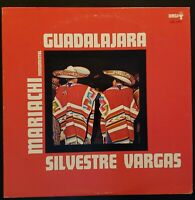 "Mariachi Monumental de Silvestre Vargas ""Guadalajara"" Vinyl Record LP"