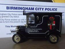 Lledo PV06 Code 3, Model T Ford Van, Birmingham City Police, cert 10/200
