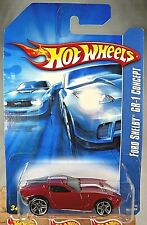 2006 Hot Wheels Collector #206 FORD SHELBY GR-1 CONCEPT Red Variant w/Chrome PR5